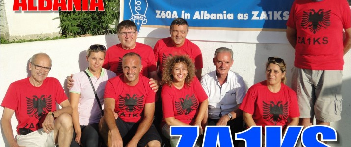 SHRAK Z60A as ZA1KS: DX expedition of SHRAK, in Albania, Durres – Shkembi i Kavajes, 17- 21 September, 2015.